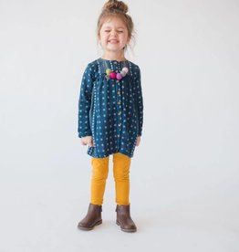 Lali Kids cleo dress- navy border
