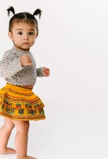 Folklore julia layered skirt baby- marigold