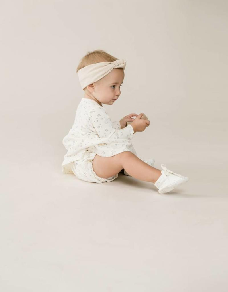 Quincy Mae gathered bloomer- ivory stars