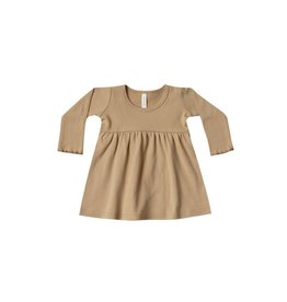 Quincy Mae l/s baby dress- honey