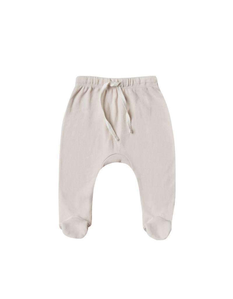 Quincy Mae footed pant- bone