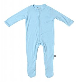 Kyte Baby layette footie- powder