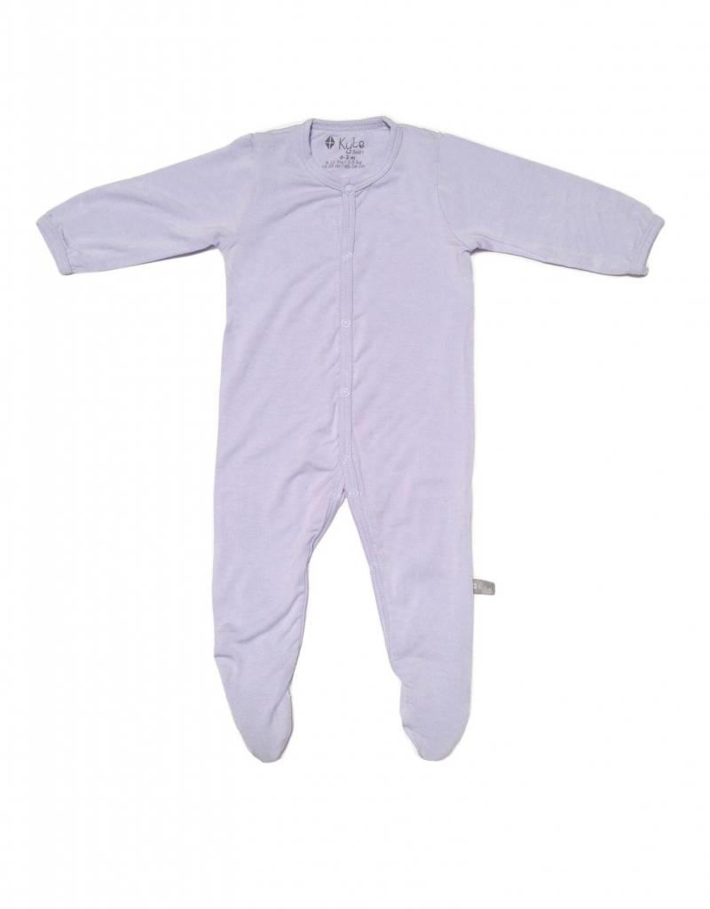 Kyte Baby layette footie- lilac