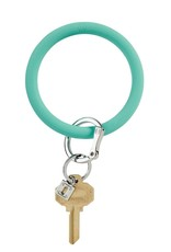 Big O Key Ring in the pool silicone