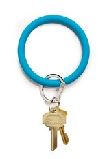 Big O Key Ring peacock silicone