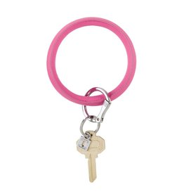 Big O Key Ring tickled pink vegan