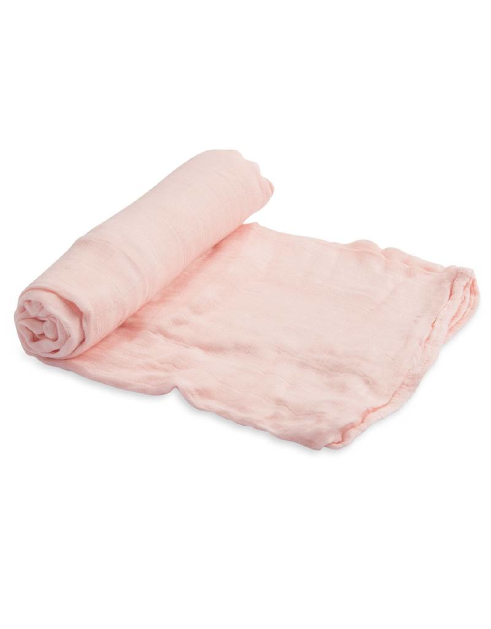 Little Unicorn deluxe muslin swaddle- blush
