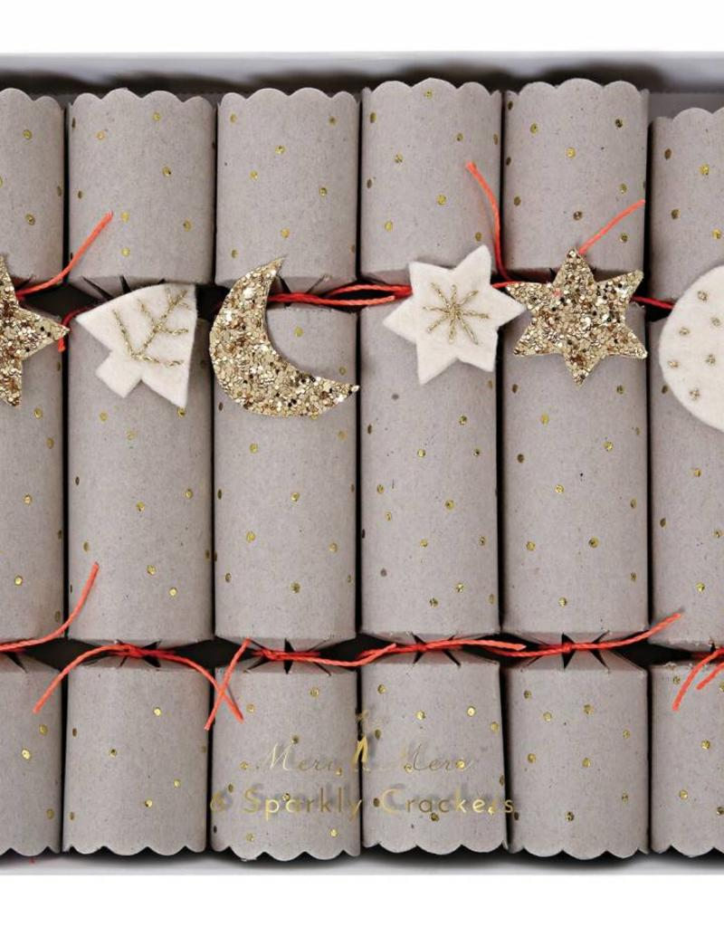 Meri Meri star & moon party crackers