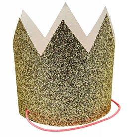 Meri Meri mini gold glitter crowns