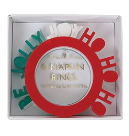 Meri Meri be jolly napkin rings