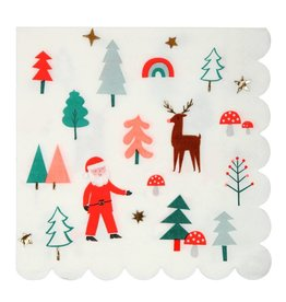 Meri Meri christmas icon napkins