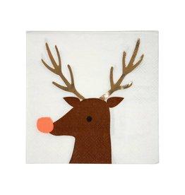 Meri Meri reindeer napkins