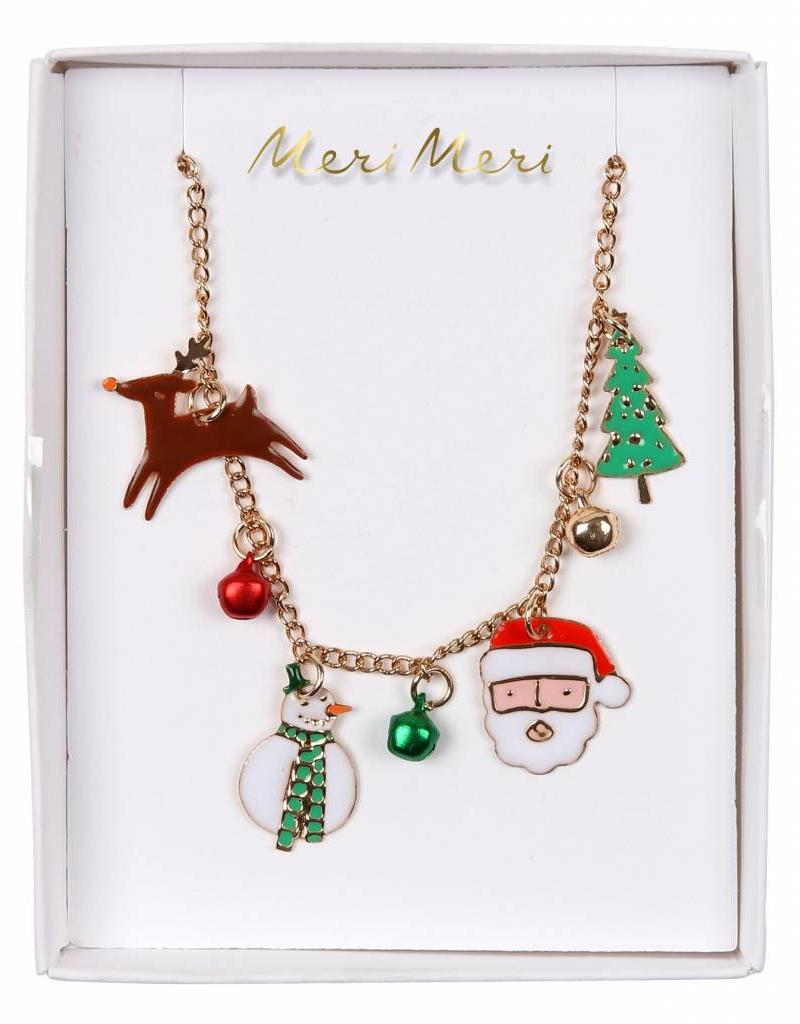 Meri Meri christmas charm necklace