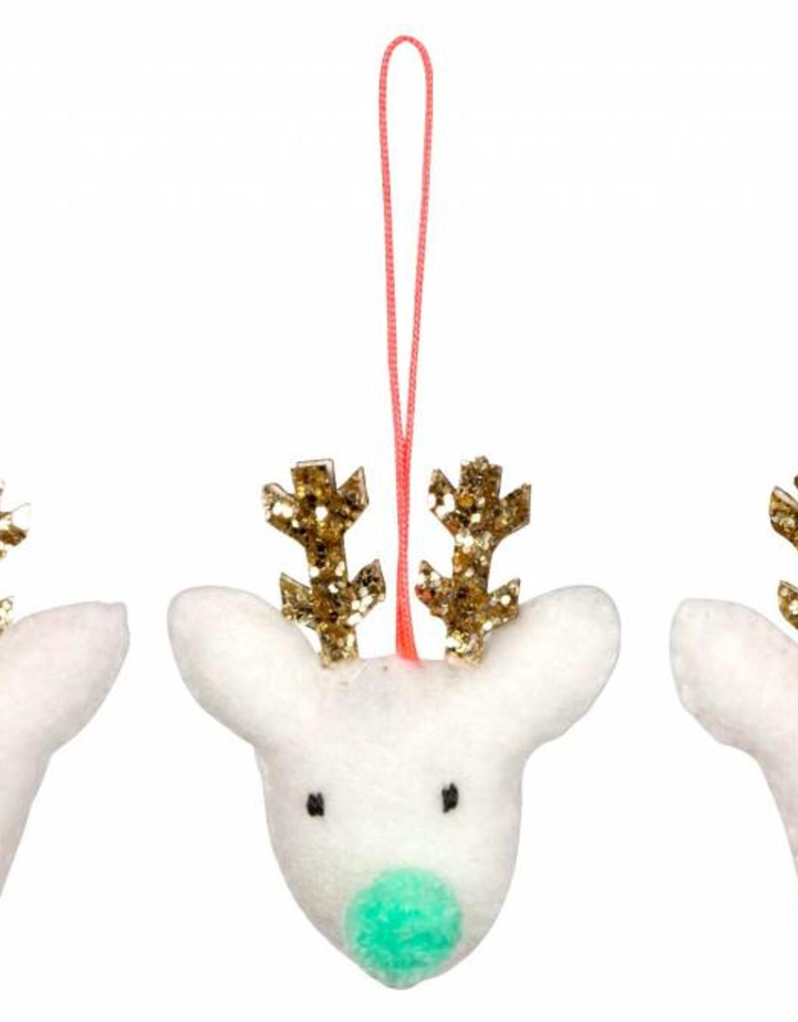 Meri Meri reindeer ornament set