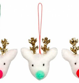 Meri Meri reindeer ornament set