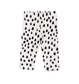 Noé & Zoë leggings- black dot