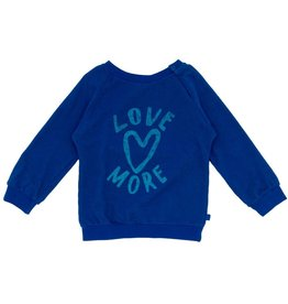 Noé & Zoë love sweatshirt- blue