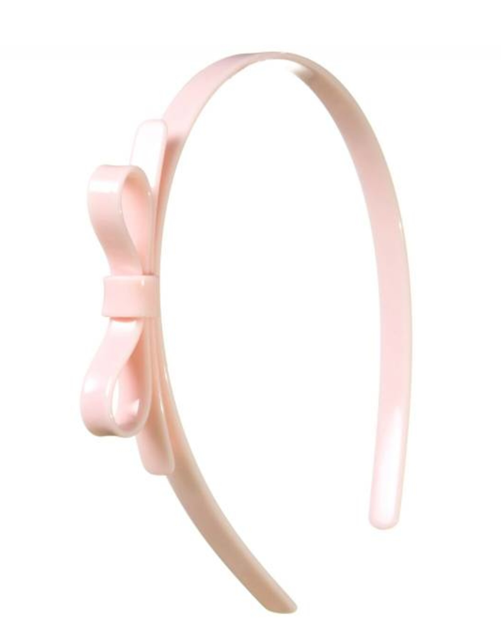 Lilies & Roses HB thin bow- pale pink