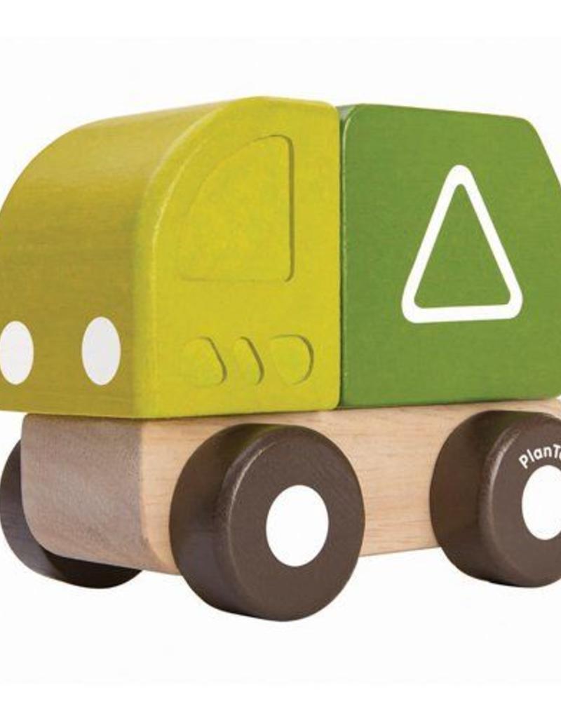 Plan Toys mini garbage truck