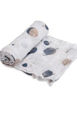 Little Unicorn cotton muslin swaddle- planetary
