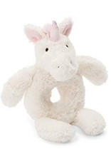 Jellycat unicorn ring rattle