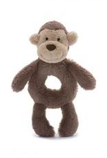 Jellycat monkey ring rattle