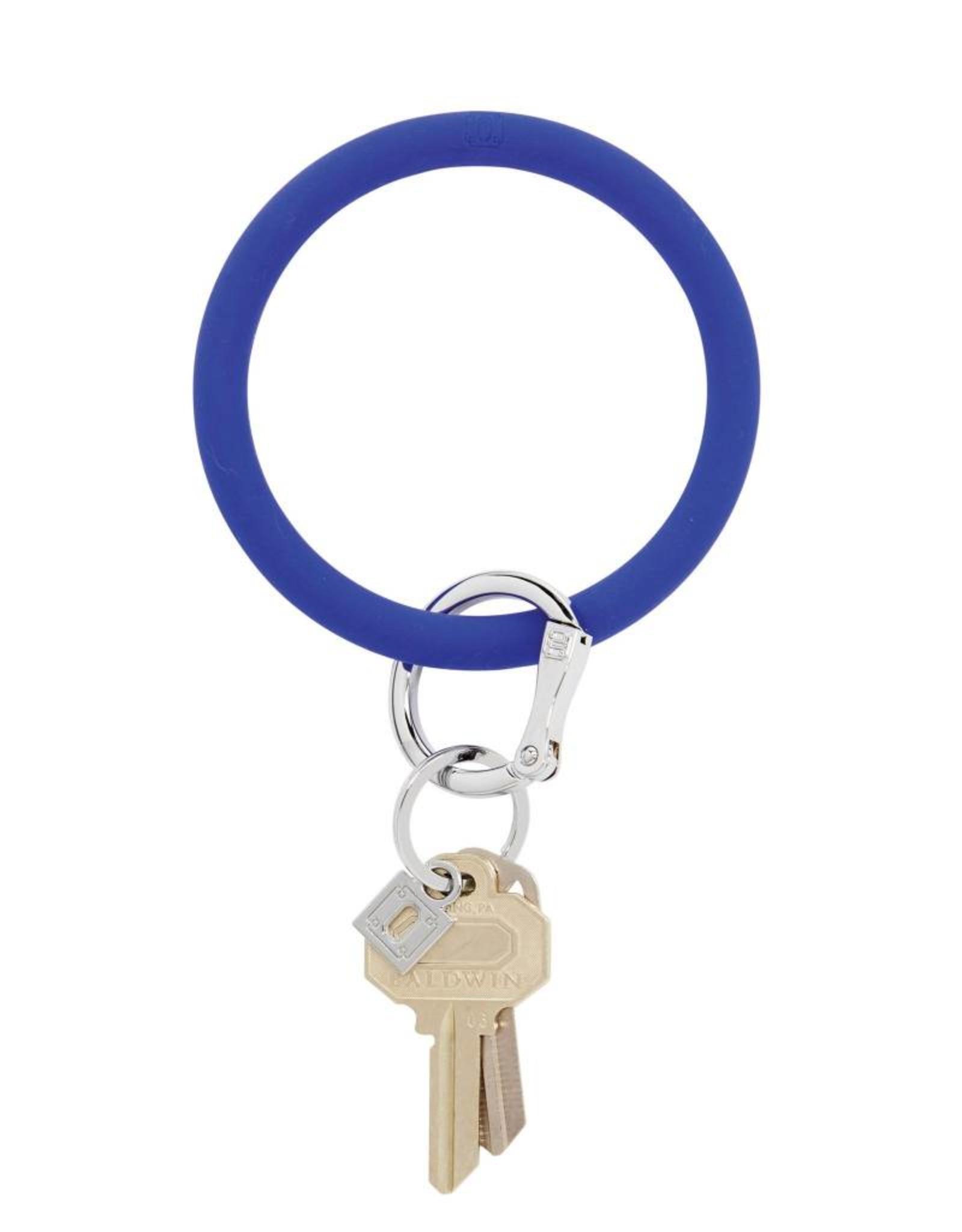 Big O Key Ring blue me away silicone