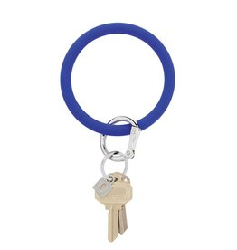 Big O Key Ring blue me away silicone