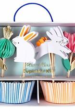 Meri Meri honeycomb bunny cupcake kit