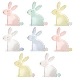 Meri Meri pastel bunny plates