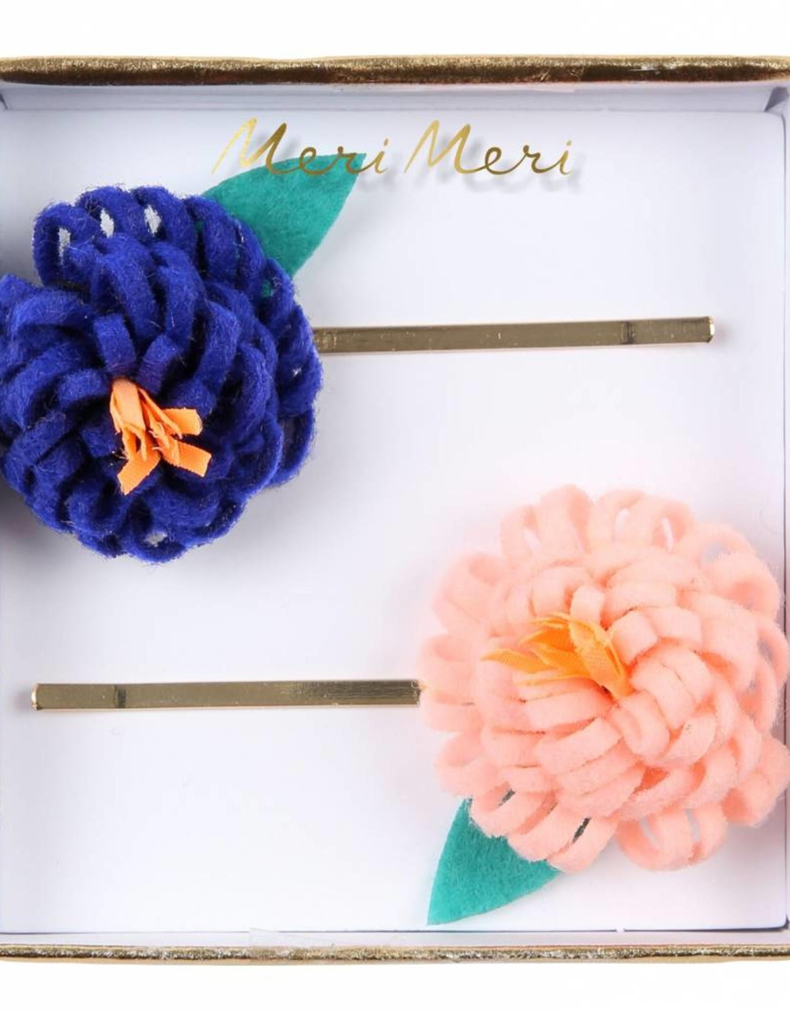 Meri Meri flower posy hairclips