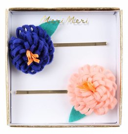 Meri Meri flower posy hairclips