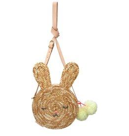 Meri Meri bunny straw bag