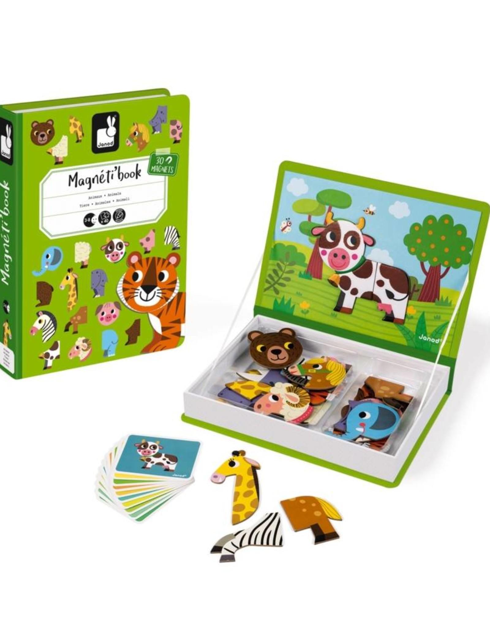 Janod magneti'book- animals