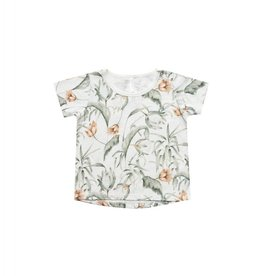 Rylee and Cru basic tee- tropical