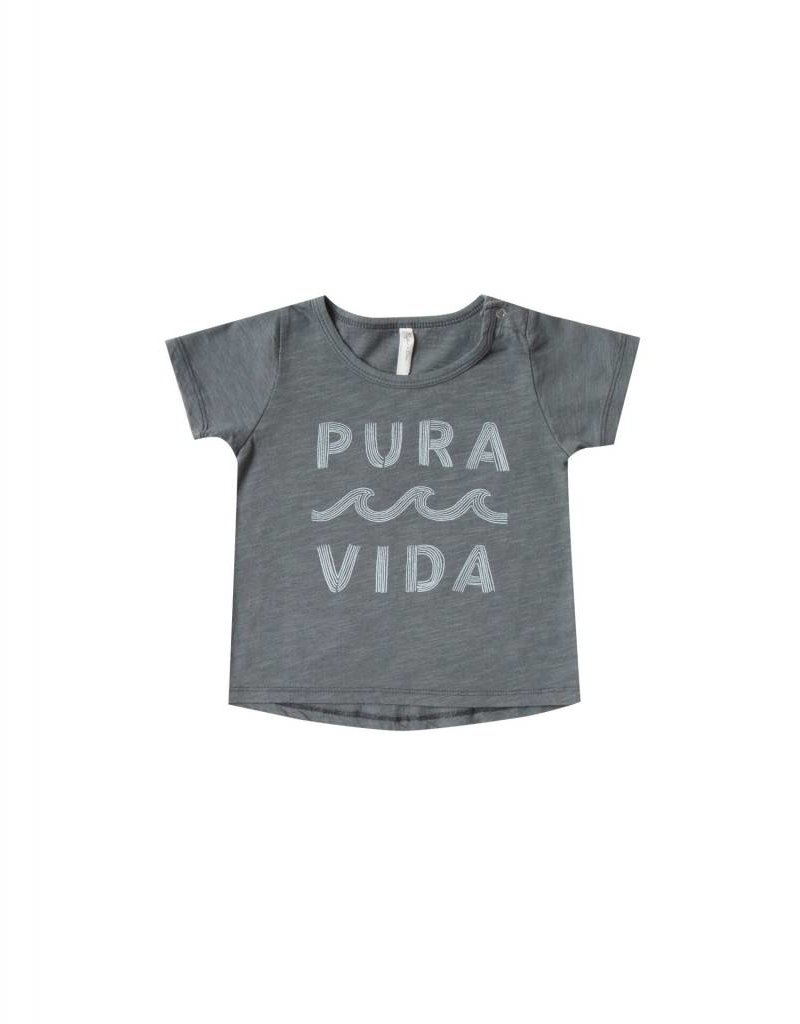 Rylee and Cru basic tee- pura vida