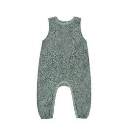 Rylee and Cru mills jumpsuit- monstera