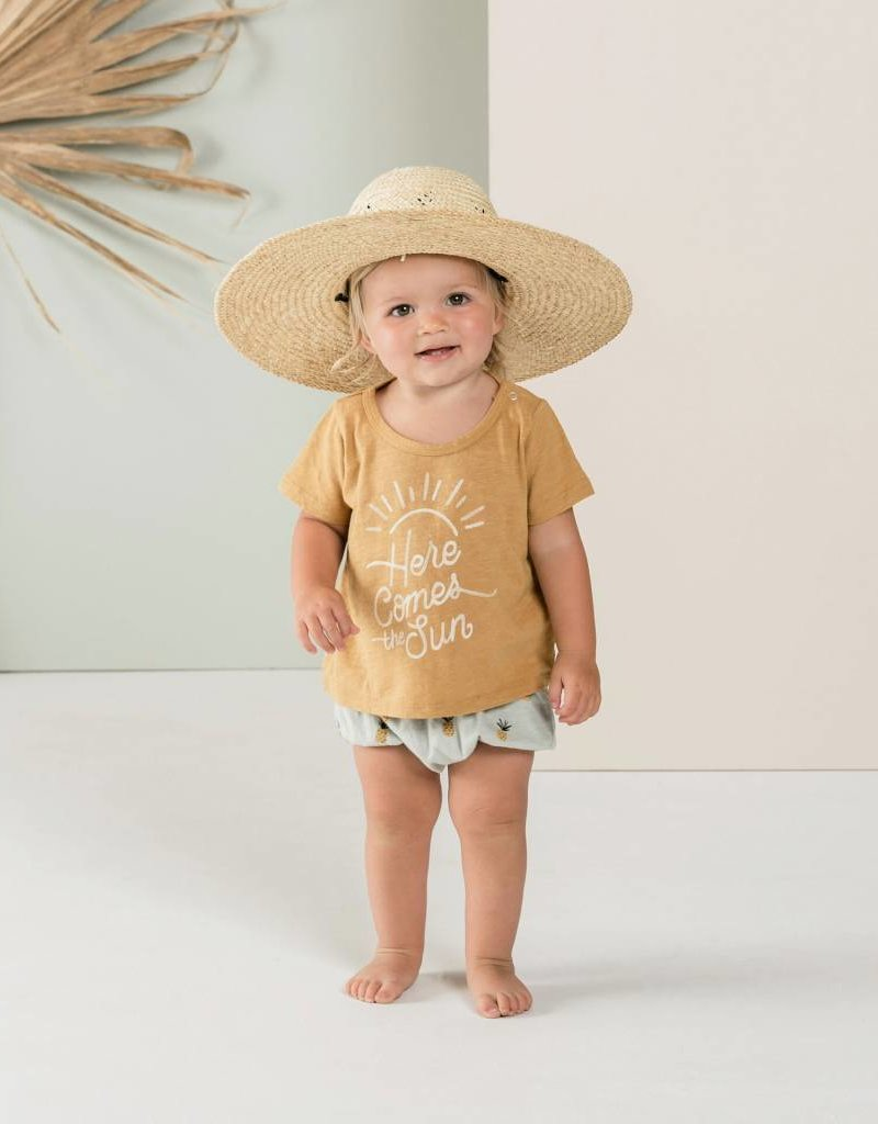 Rylee and Cru basic tee- here comes the sun