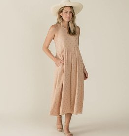Rylee and Cru zoe maxi- blush cross