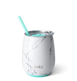 Swig 14oz stemless wine- marble