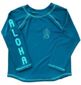 Feather 4 Arrow swim shirt- ink blue
