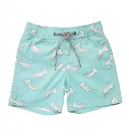 Feather 4 Arrow swim trunks- sea fog