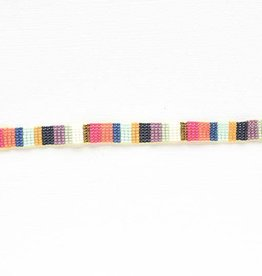 Ink + Alloy petite seed bracelet- multi