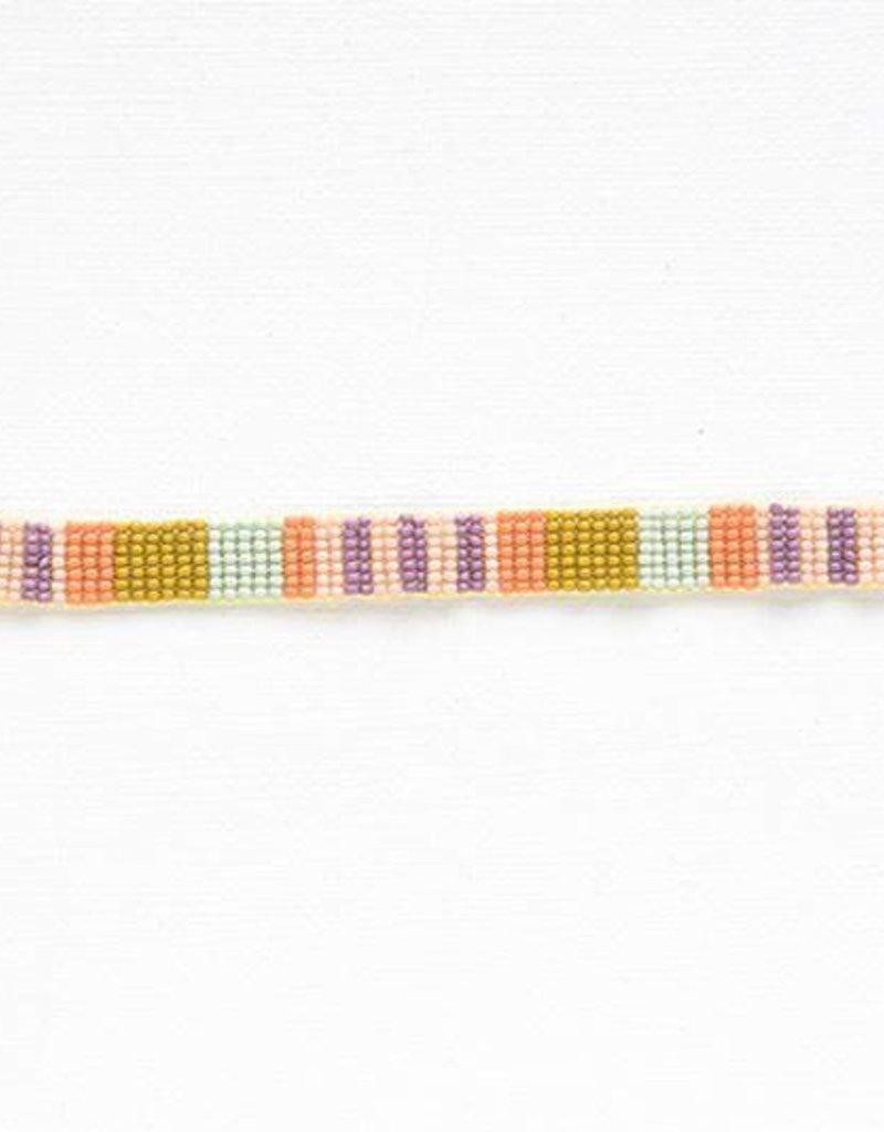 Ink + Alloy petite seed bracelet- citron