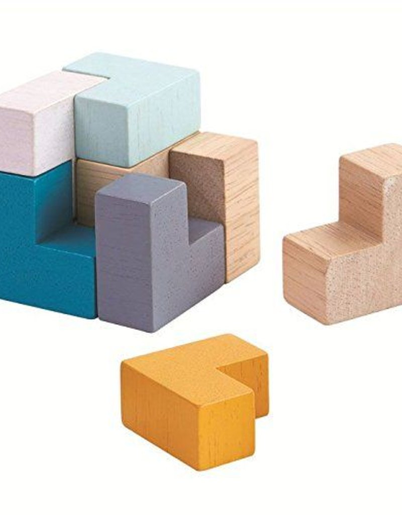 Plan Toys to-go 3D puzzle cube