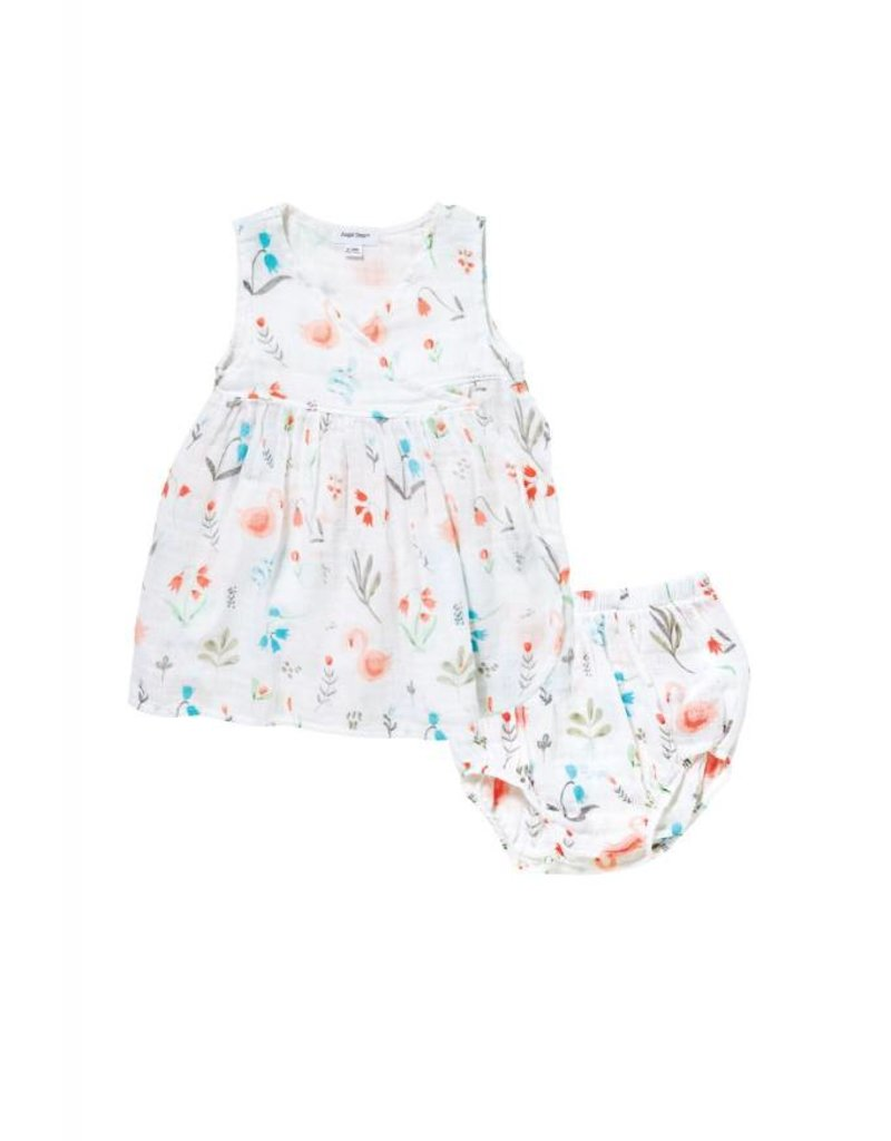 87647d8d8db swan floral dress set - The Little Things - The Little Things