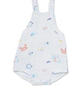 Angel Dear little fishes sunsuit