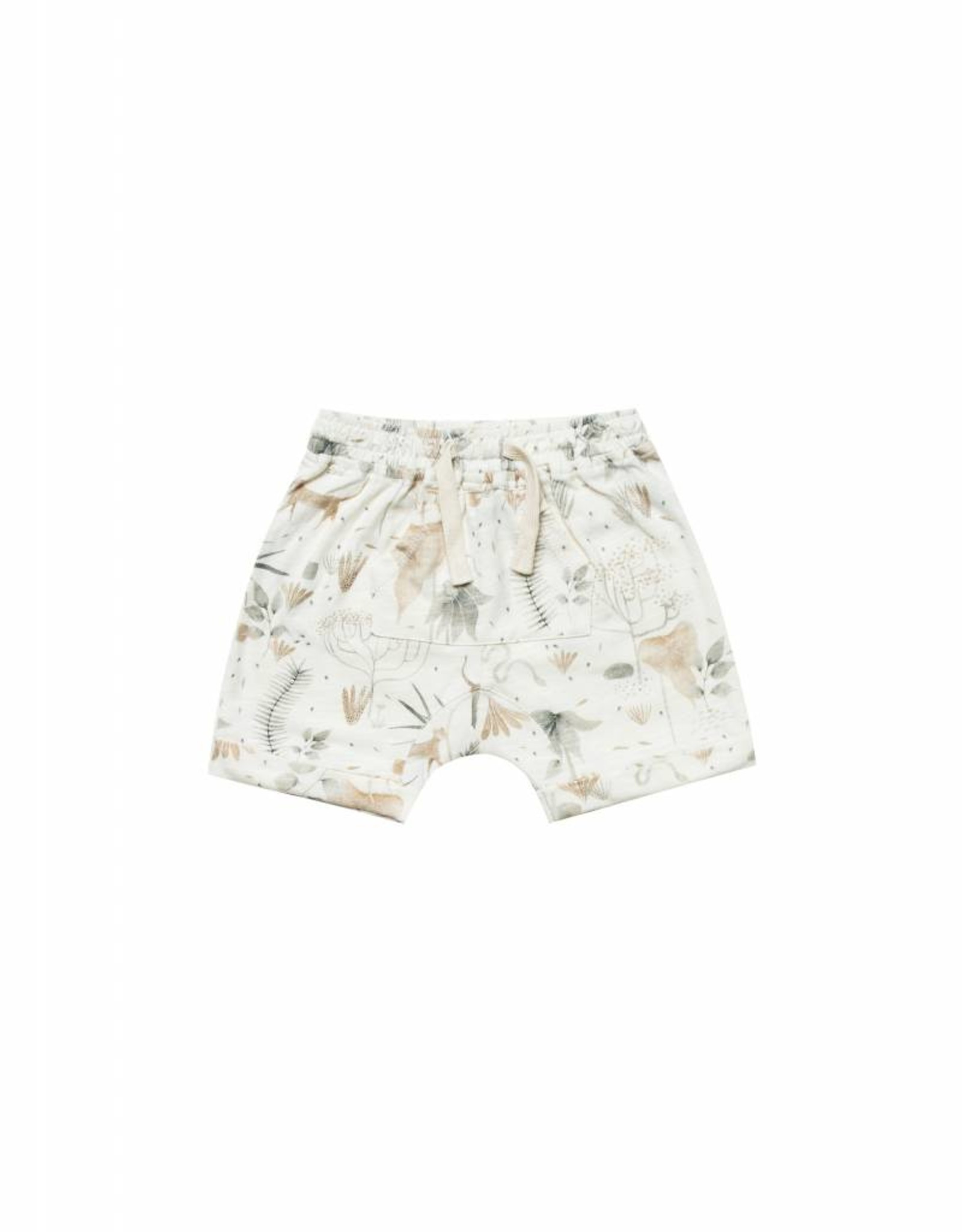 Rylee and Cru front pouch short- jungle