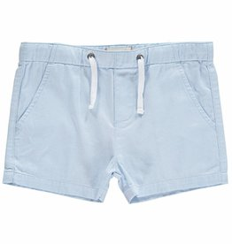 Me & Henry woven shorts- pale blue