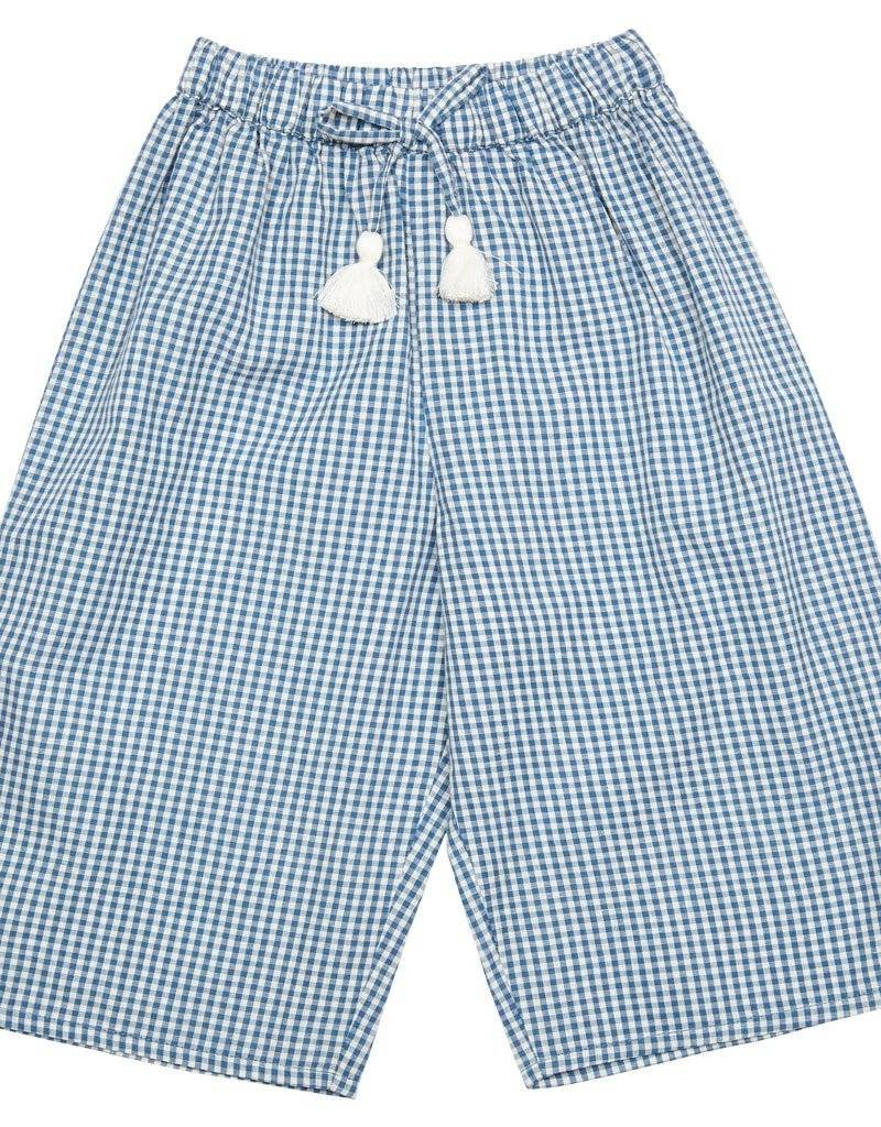 Pink Chicken theodore pant- blue gingham